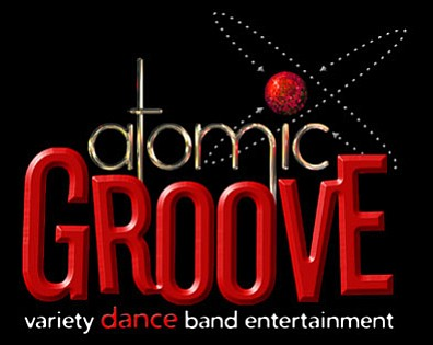 Promotional Graphic for Atomic Groove taking place on Aug...