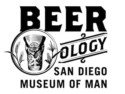 "Promotional graphic for San Diego Museum of Man's ""Beerology"" exhibit and beer tasting event taking place on September 19. Courtesy of the San Diego Museum of Man."