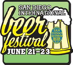 Promotional image for the San Diego International Beer Festival 2013.