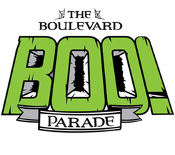 Promotional graphic for the BOO! Parade taking place October 26. Courtesy of BOO! Parade.