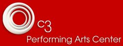 Graphic logo of the C3 Performing Arts Center.