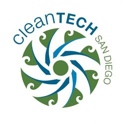 Graphic logo for CleanTECH San Diego.