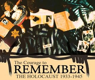 """Promotional image for the """"Courage To Remember"""" exhibit, ..."""
