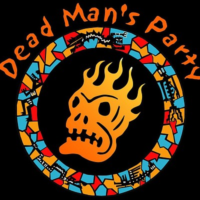 Promotional graphic for Dead Man's Party, performing at the Belly Up Tavern on November 2. Courtesy of Dead Man's Party.