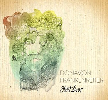 Promotional graphic for Donavon Frankenreiter At Belly Up...