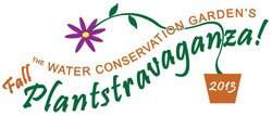 Promotional graphic for the Fall Plantstravaganza taking place on November 2nd. Courtesy of The Water Conservation Garden.