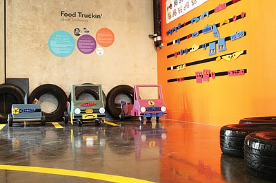 Promotional image of DIY Food Trucks at New Children's Museum.