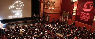 Image of the San Diego Asian Film Festival from a previous year. Courtesy of the San Diego Asian Film Festival Foundation.