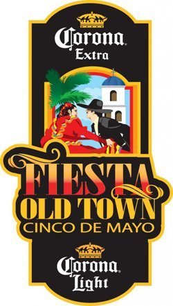 Promotional graphic for Fiesta Old Town May 3rd-5th, 2013.