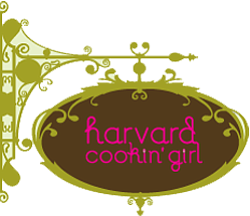 Graphic image for the Harvard Cookin' Girl, home of the A...