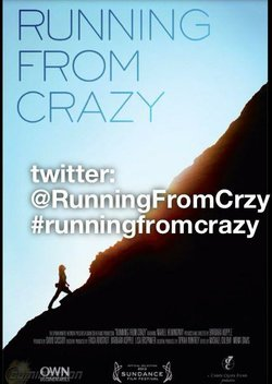 "Promotional graphic for the VIP screening of ""Running From Crazy."" Courtesy of Meriel Hemmingway."
