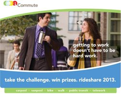 Promotional graphic for October Rideshare Month. Courtesy image of SANDAG.