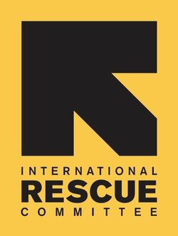 Graphic logo for the International Rescue Committee