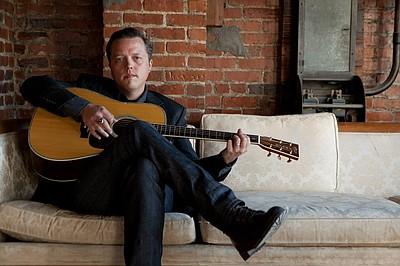 Promotional photo of Jason Isbell, performing on September 17, 2013 at the Belly Up Tavern. Courtesy of Jason Isbell.