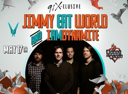 Promotional photo for the House Of Blues San Diego 91X-clusive featuring Jimmy Eat World.