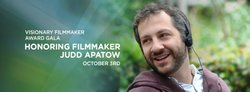 Promotional graphic for San Diego Film Festival's Tribute To Judd Apatow. Courtesy of the San Diego Film Festival.