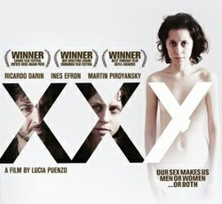 "Promotional graphic for the film, ""XXY"""