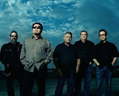 Graphic image of Los Lobos.