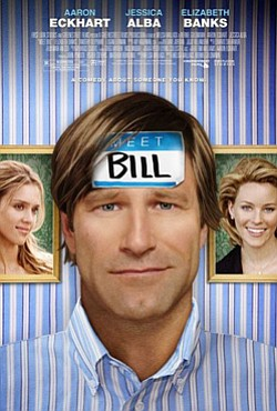"Promotional movie poster for ""Meet Bill"" playing at Centr..."