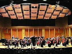 Promotional graphic for the MiraCosta College Symphony Orchestra's performance. Courtesy of MiraCosta College.