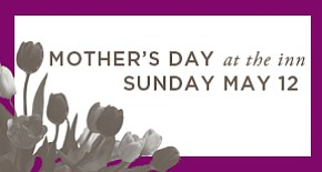 Promotional image for the Mother's Day Dining at the Rancho Bernardo Inn.