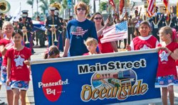 Promotional photo for Oceanside Independence Day Parade on June 29, 2013.