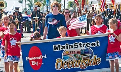 Promotional photo for Oceanside Independence Day Parade o...