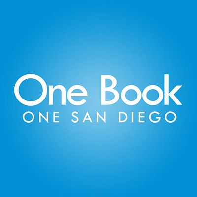 Graphic logo for One Book, One San Diego, a community reading program put on in partnership by KPBS and the San Diego Public Library. Visit our website at kpbs.org/onebook.