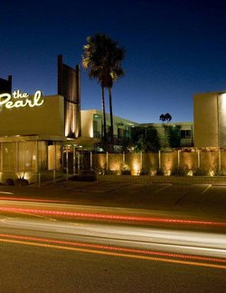 Exterior photo of the Pearl Hotel. Courtesy of the Perl Hotel.