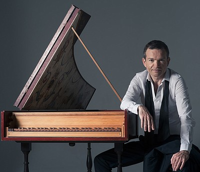 Image of Christophe Rousset, who will be performing at the Auditorium at TSRI on April 9th, 2013.