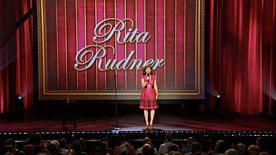 Promotional graphic for Rita Rudner's performance at the Belly Up Tavern. Courtesy of Rita Rudner.