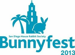 Promotional graphic for San Diego BunnyFest 2013 held in Balboa Park. Courtesy image of San Diego House Rabbit Society.