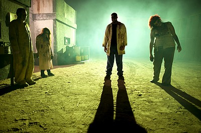 Promotional photo of Zombies for The Scream Zone.