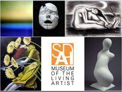 Promotional graphic for the San Diego Art Institute.(SDAI). Courtesy image of SDAI.