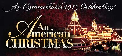 "Promotional graphic for ""An American Christmas,"" at the H..."