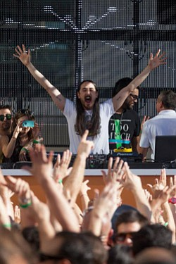 Promotional image of Steve Aoki performing at Hard Rock H...