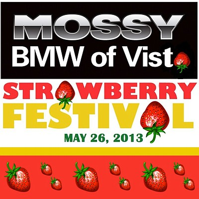 Promotional image for the 2013 Vista Strawberry Festival.
