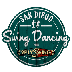 Logo for Swing Dancing San Diego.