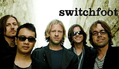 Promotional graphic for Switchfoot. Courtesy of Switchfoot.