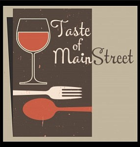 Promotional graphic for the 24th Annual Taste of MainStreet, taking place on Tuesday, August 20th. Courtesy of Encinitas 101.