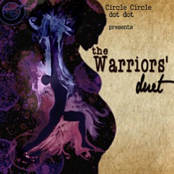 "Promotional graphic for the performance of ""The Warriors' Duet"" at the San Diego Fringe Festival. Courtesy of the San Diego Fringe Festival."