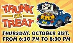 Promotional graphic for Trunk-or-Treat. Courtesy of Bonit...