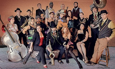 Promotional graphic for Vaud and the Villains, performing at the Belly Up Tavern on September 29. Courtesy of Vaud and the Villains.