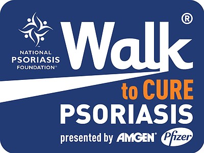 Promotional image for the Walk to Cure Psoriasis San Diego.