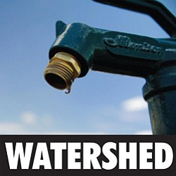 "Promotional image of the film ""Watershed"" playing at Vale..."