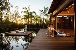 Promotional image of the Rancho Valencia Resort & Spa Exclusive Luxury Wellness Retreats.