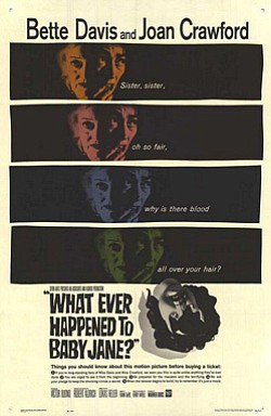 "Promotional movie poster for ""What Ever Happened to Baby ..."