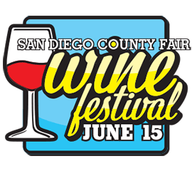 Promotional image for the San Diego County Fair Wine Festival 2013.