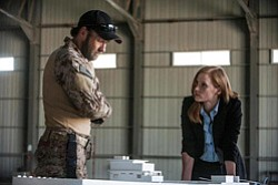 "Promotional image from the film ""Zero Dark Thirty"", playing at Central Public Library's Friday Talking Pictures on May 17, 2013."