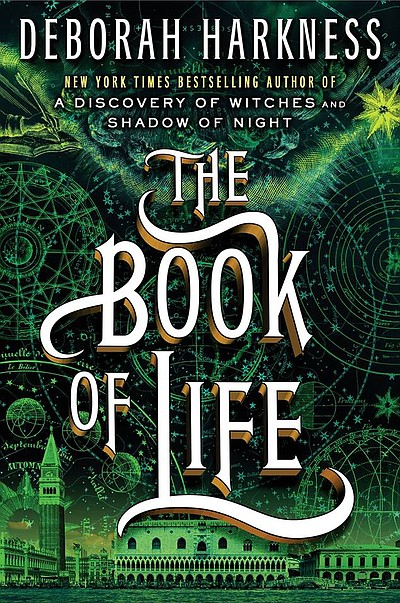 "Promotional photo of Deborah Harkness' novel, ""The Book of Life""."